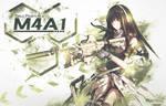 Wallpaper - Girls Frontline M4A1