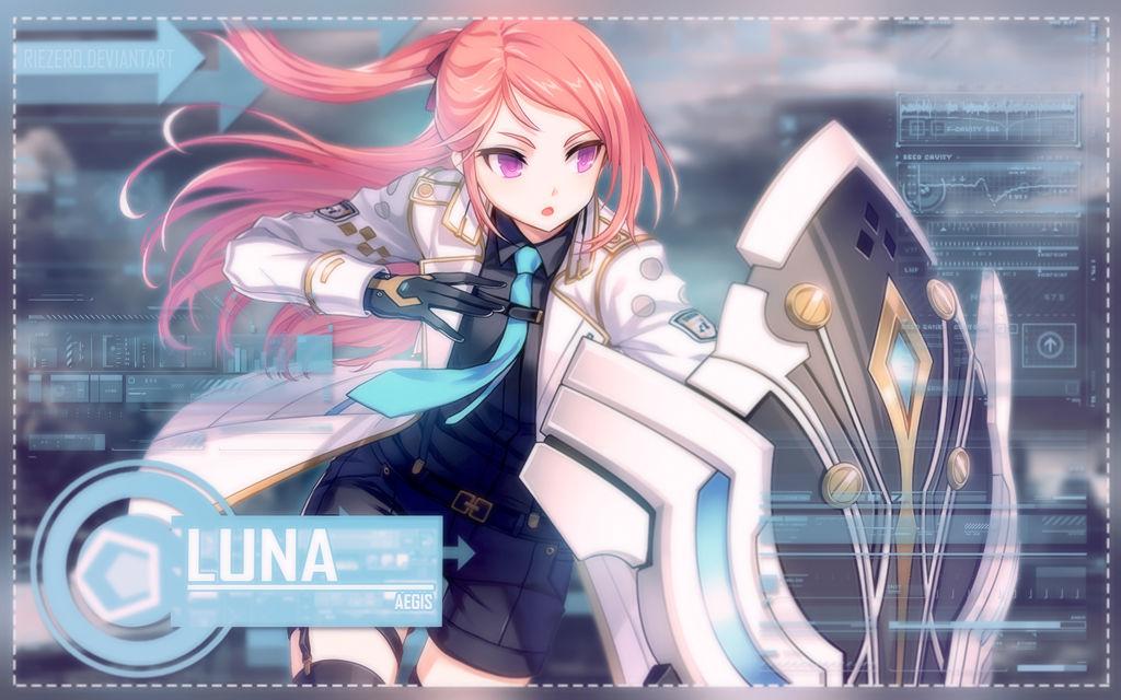 Wallpaper Luna Special Agent By Riezero