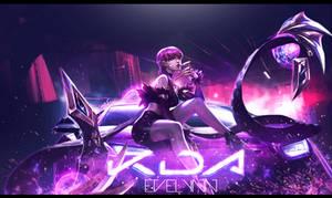 Wallpaper - KDA Evelynn LoL
