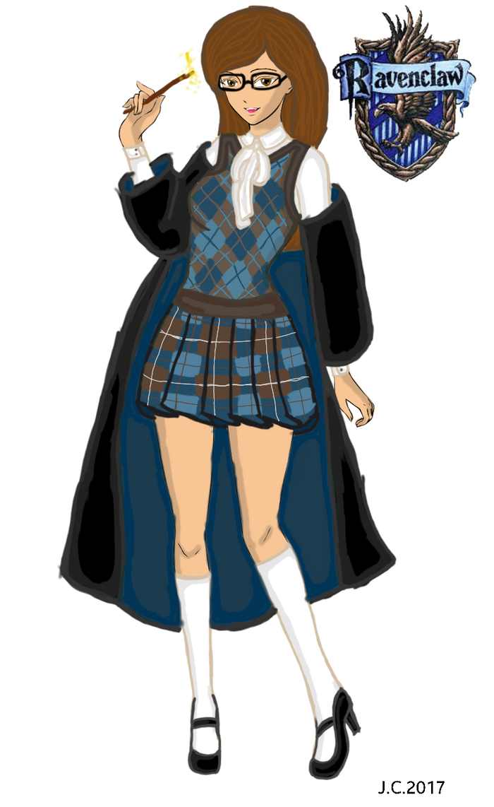 2/2 CM - Aly from Ravenclaw by HeartStorm4ever
