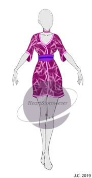 Outfit Adopt - Asian flower