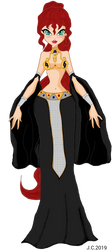 Dya as Akasha from TQD - 10 Art Challenge n.2 by HeartStorm4ever