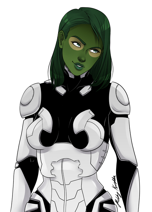 Gamora by MelodyMoore