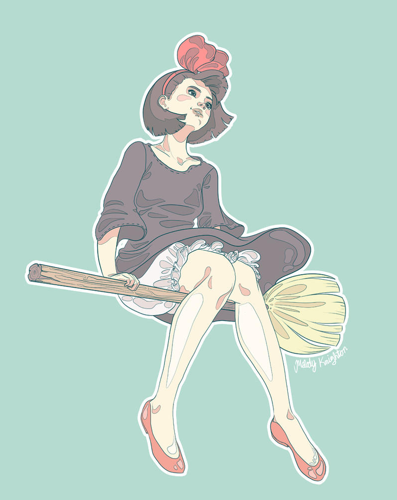 Day 01: Kiki's Delivery Service by MelodyMoore