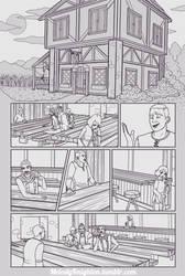 Webcomic Pg. 01 Lineart