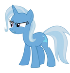 Trixie Still Doesn't Trust You (Vector)