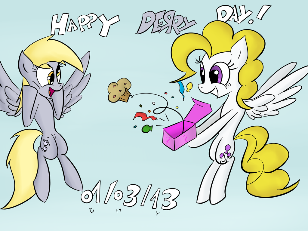 Happy Derpy Day 2013!!! by TiXoLSeyerk
