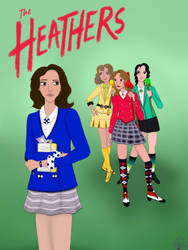 The Heathers, Plus Veronica by MysteriousDreamGirl