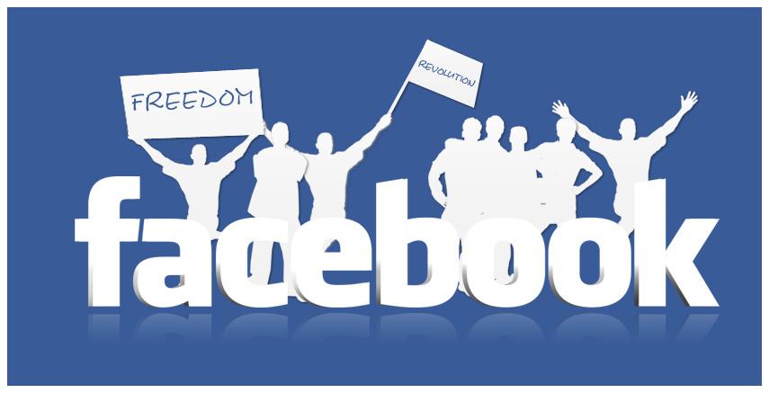 The Facebook Revolution by Rizkallah