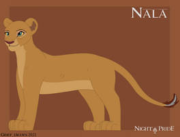 Old Nala ref for The Night Pride Series