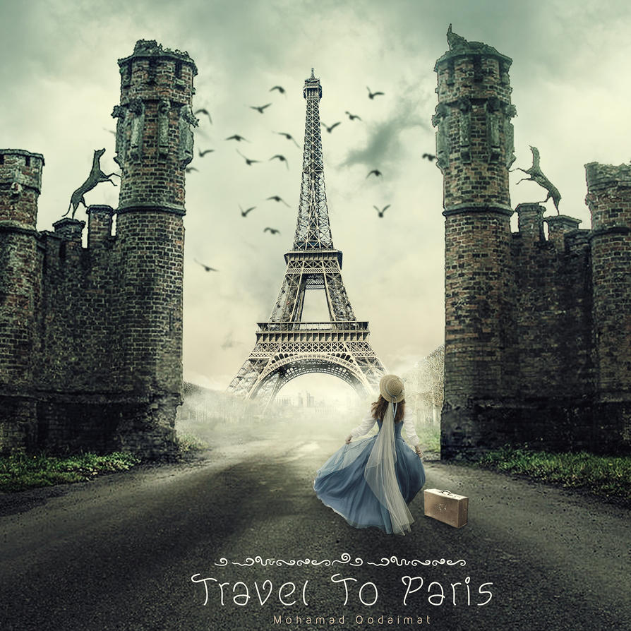 Travel To Paris by QdMohamad