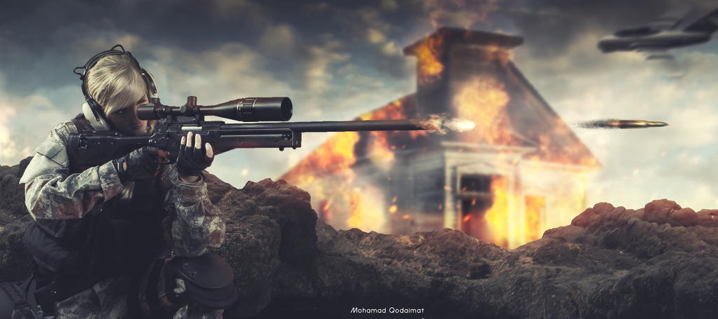The Sniper | bullet by QdMohamad