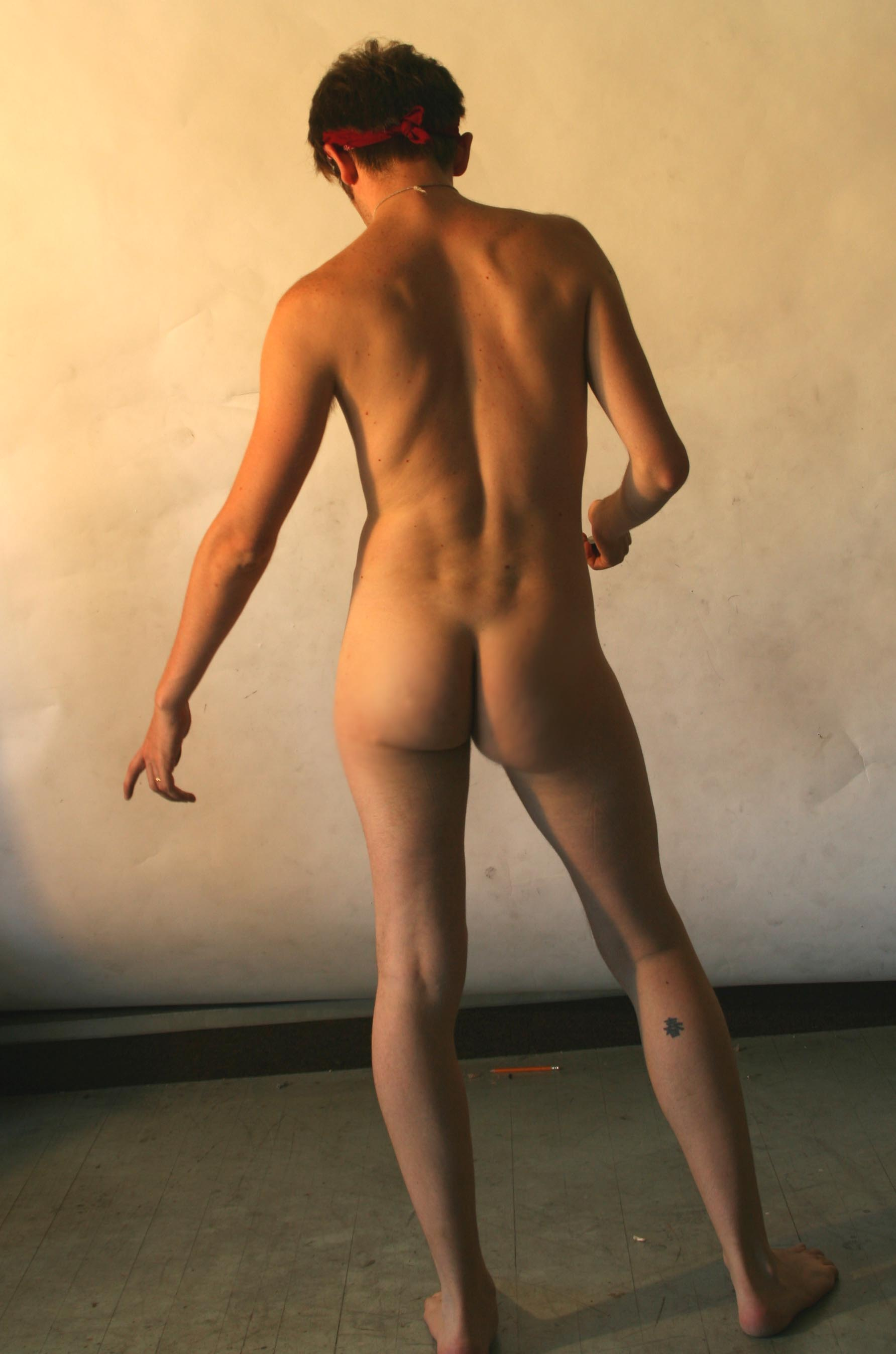 Nude From Back 41