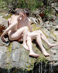 Nude Gay Couple Outdoors 4