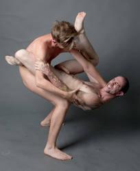 nude male wrestling 25 by TheMaleNudeStock