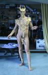 Golden God Costume 6
