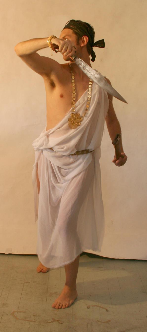 Greek Male fighting 2 by Felixdeon