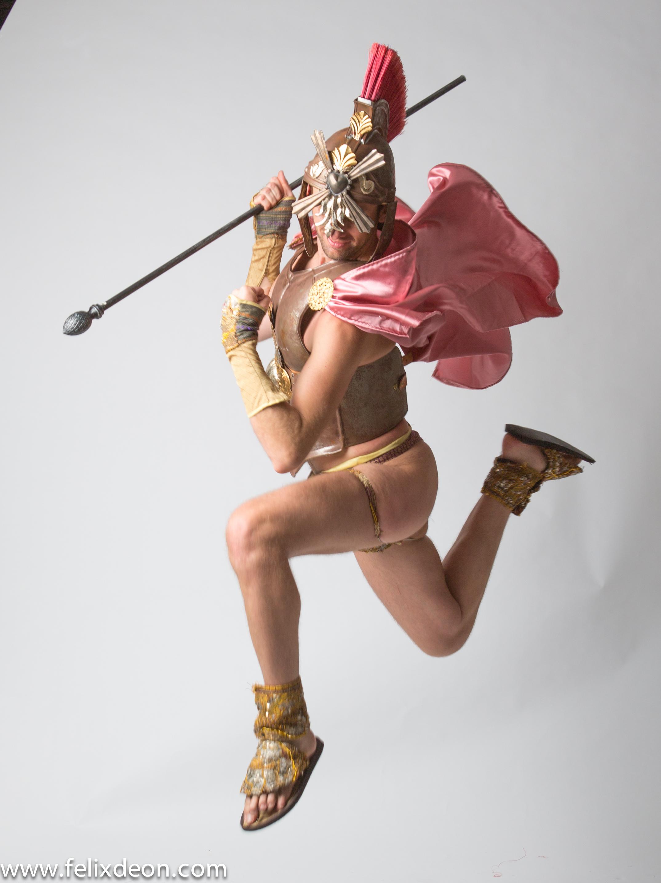 Flying Roman Warrior 5