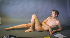reclining male nude 3