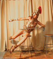 Roman Warrior Dressed 1aee by TheMaleNudeStock