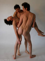 Fallen Nude Male afdda by TheMaleNudeStock