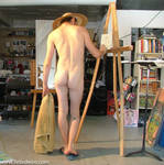 Nude Male painting at Easil