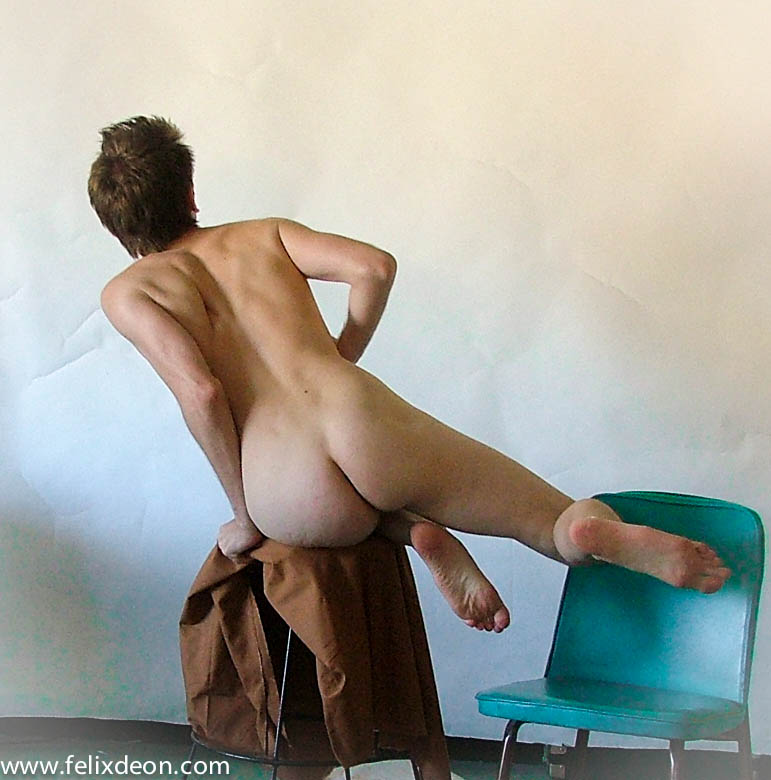 Flying Male Nude by Felixdeon
