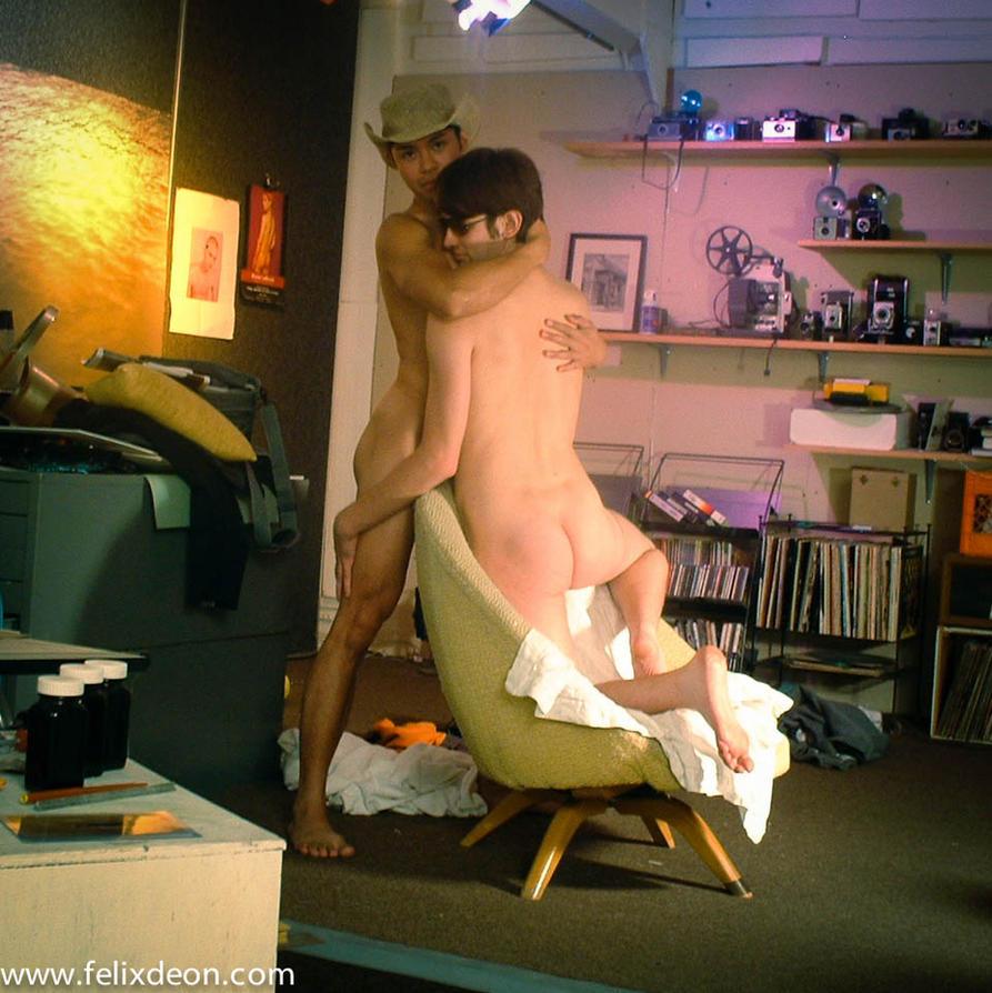 Loving Nude Male Couple by Felixdeon