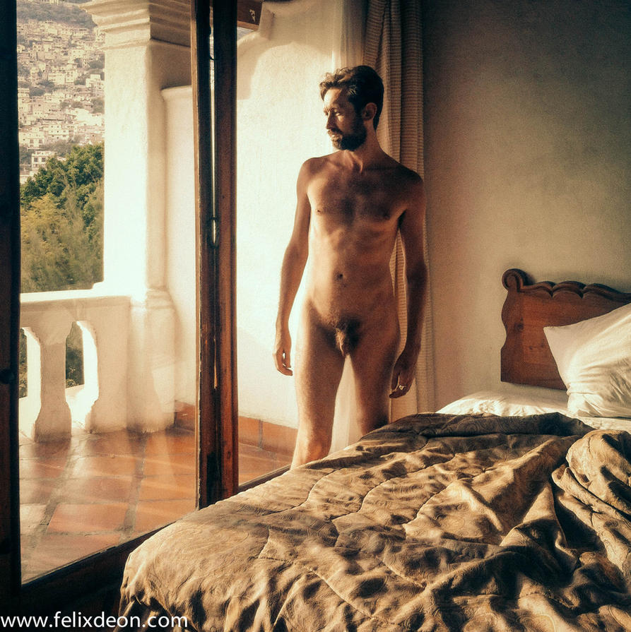 male nude in Taxco Hotel  dss by TheMaleNudeStock