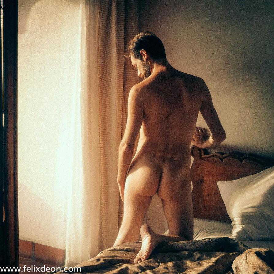 male nude in Taxco Hotel 1zs by TheMaleNudeStock