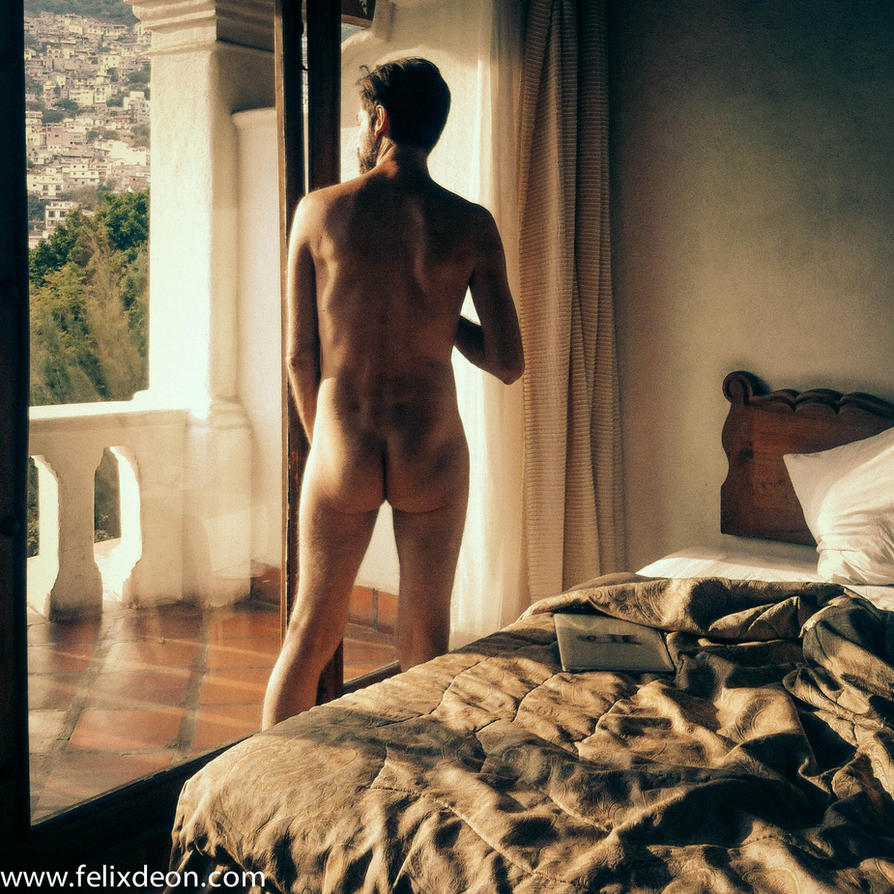 male nude in Taxco Hotel  ds by TheMaleNudeStock