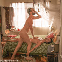 mourning over dead male nude 4 by TheMaleNudeStock