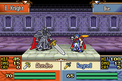 Ike VS The Black Knight by xXSapphireGaleXx