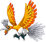 Shiny Ho-Oh P.O. -fullview- by xXSapphireGaleXx