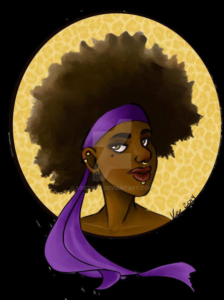 Fro Queen by Veezibee