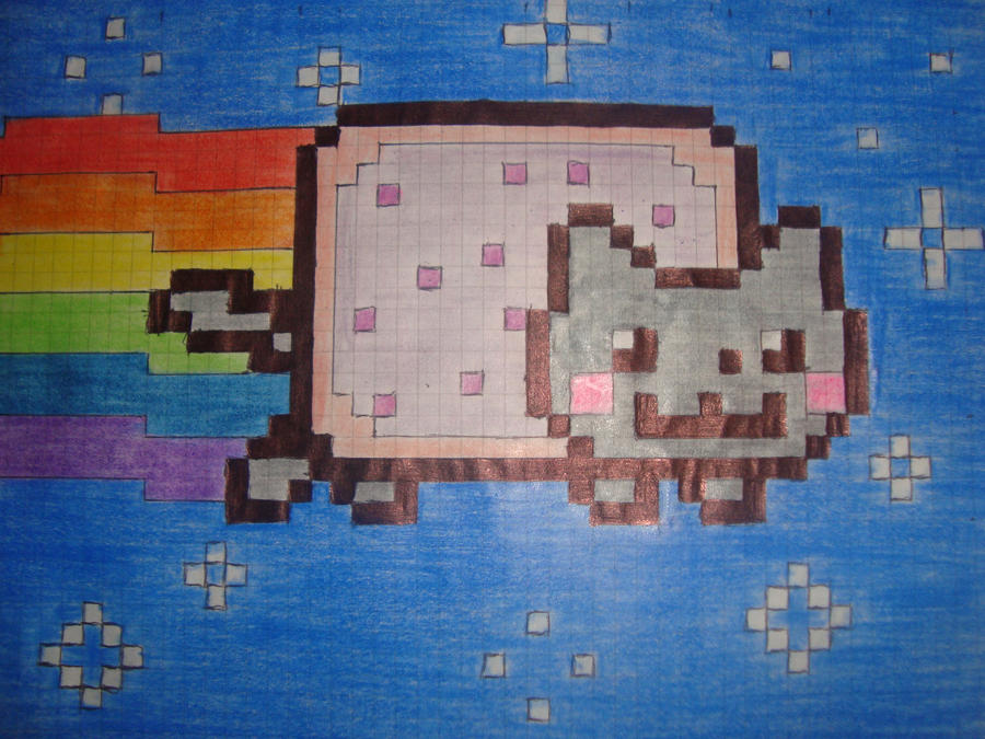 Nyan Cat Draw Three.