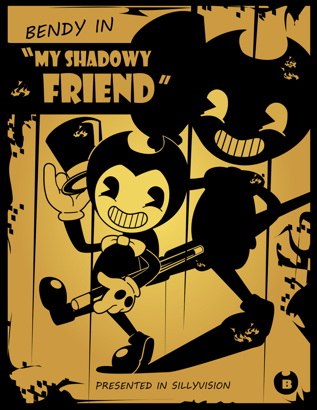 Bendy and the Ink Machine - My Shadowy Friend by ...