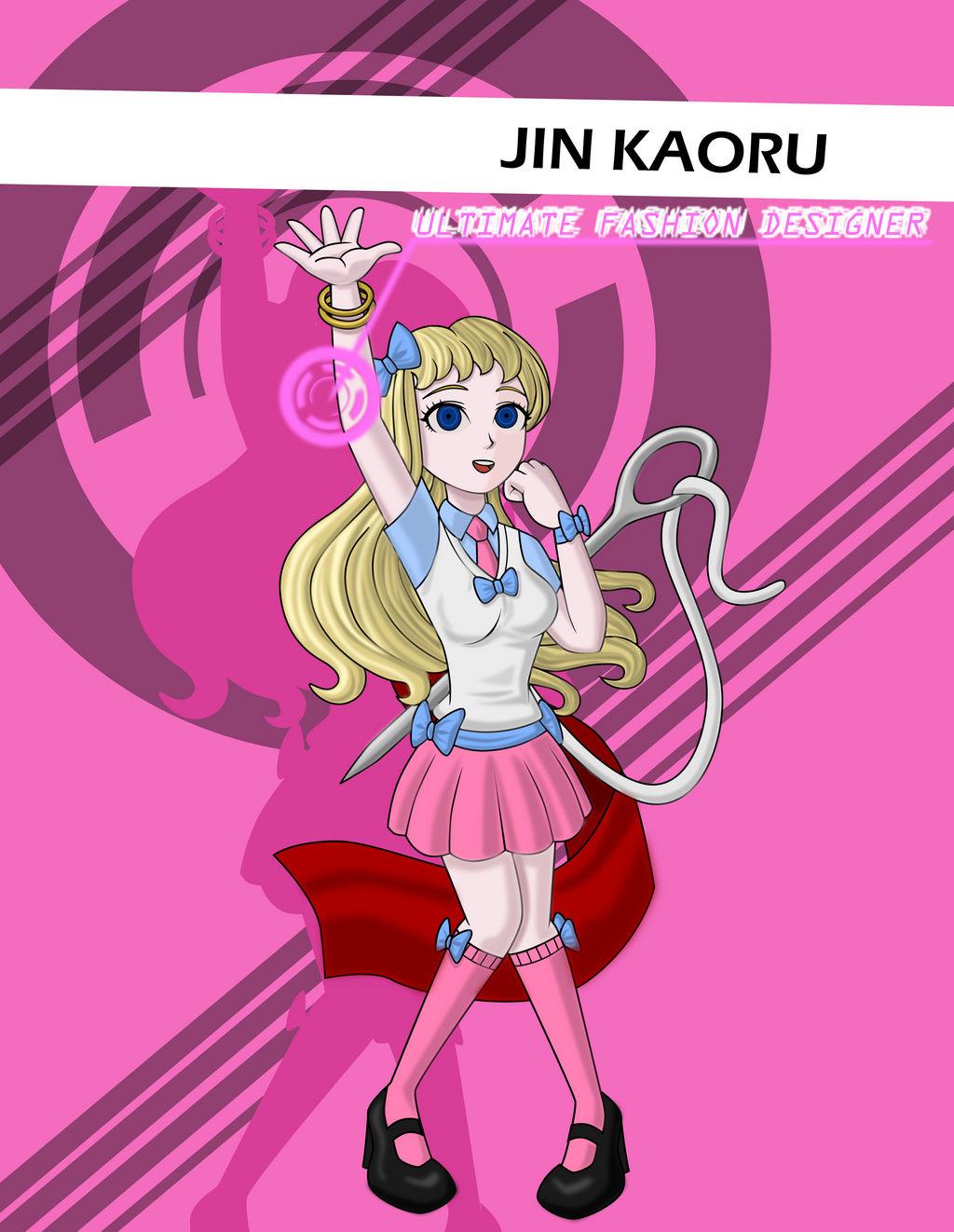 Danganronpa: Hope Reborn - Jin Kaoru by sonicgirl313 on