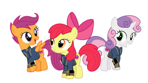 Fallout Equestria - The Cutie Mark Crusaders