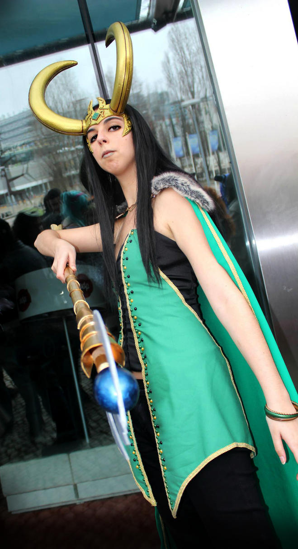 Loki: Bow down to me by nameless-dreamer