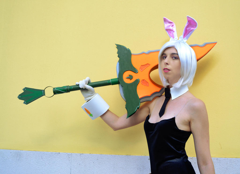Battle Bunny Riven III by nameless-dreamer