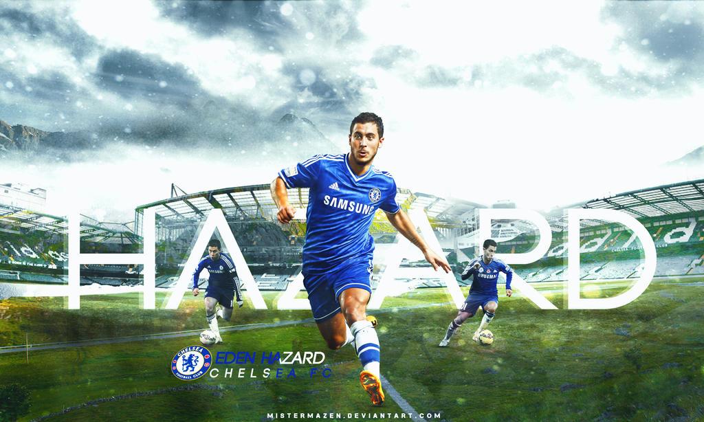 Eden Hazard Wallpaper CHELSEA FC By MisterMazen