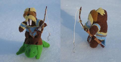 Tiny Tuskarr by sashafiero