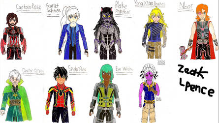 Crossovers on RWBY-Universe - DeviantArt
