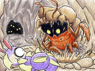Pocket Adventure: Rockroach by inkdragonworks