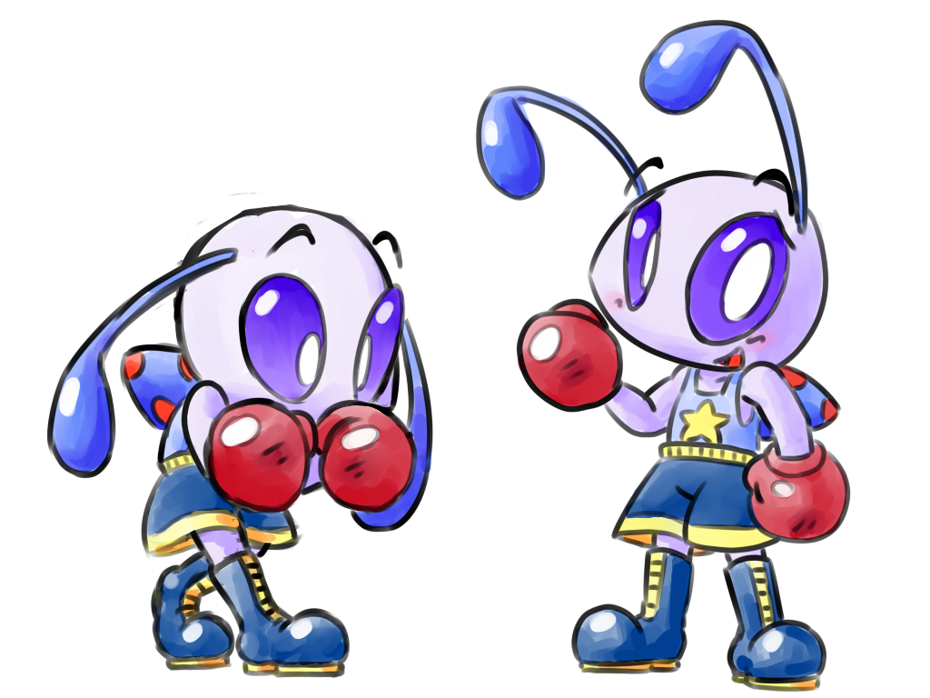 Boxing Poppin by inkdragonworks