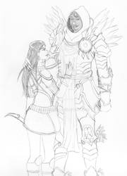 Atsanit and Tyrael