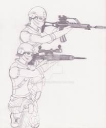 Urban Terror characters