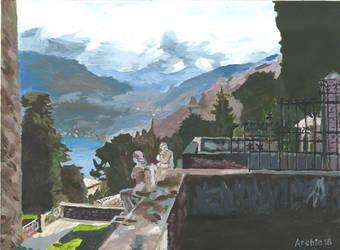 Italian Landscape by archiei