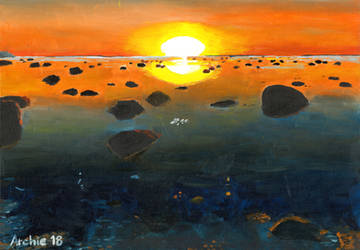 Kopli Shore by archiei